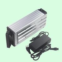 Livraison gratuite de haute qualité 48v batterie vélo électrique 20ah 18650 batteries pour moteur 750W / 1000W + 30A BMS + 2A Chargeur
