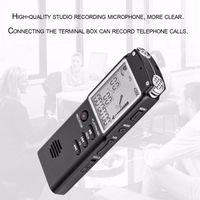T60 2 في 1 المهنية الرقمية الصوت صوت مسجل 8GB شاشة LCD في الوقت الحقيقي عرض تسجيل صوتي رقمي مع لاعب MP3