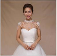 2018 nuovo abito da sposa, collana della spalla, catena della spalla del pizzo della sposa, sciarpa coreana, scialle della nappa, accessori nuziali di qualità superiore.