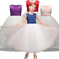 New Kids Tutu Birthday Wedding Princess Party Dress for Girl...