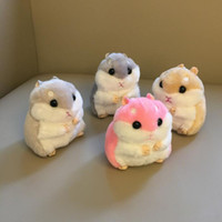 Cute Plush Toys New cute soft plush hamster doll jewelry bag...