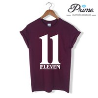11 Eleven T- Shirt - Inspired by Stranger Things Ladies Mens ...