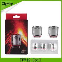 TFV12 Testa di ricambio V12 T12 T8 T6 X4 Q4 teste di atomizzatore per TFV12 Tank Beast Cloud Monster Vape DHL LIBERA il trasporto 0266121-1