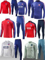 2018 19 atletico tracksuit soccer Training suit soccer wear ...