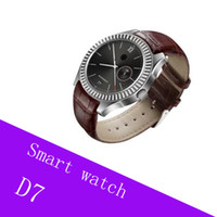 D07 Bluetooth Smart Watch con ranura para tarjeta SIM y NFC Health Watchs para Android Samsung e IOS Apple iPhone Smartphone pulsera Smartwatch