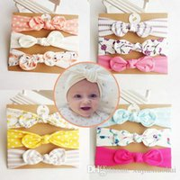 93 Styles Cute Baby girl flower bowknot Headbands Colorful P...