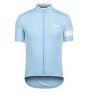 Rapha Pro 팀 망 짧은 소매 사이클링 저지 MTB 자전거 셔츠 도로 자전거 복장 여름 통기성 야외 스포츠 유니폼 Ropa Ciclismo S2103118