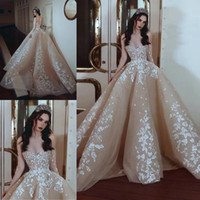 Latest Junoesque Champagne A Line Wedding Dresses Sweetheart...