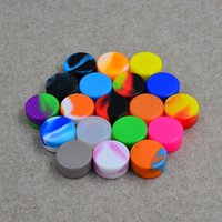 Recipientes de cera antiaderca Caixa de silicone 7ml 5ml 3ml 2ml recipiente de silicone alimento grau de alimentos frasco de ferramentas de armazenamento de ferramentas para vaporizador Vape 300p