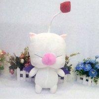 Final Fantasy FF13 FF14 Moogle 48 cm Brinquedo Recheado de Pelúcia Mascote Da Boneca Dos Desenhos Animados