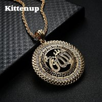 Kittenup New Fashion Religion Totem Round Pendant Necklace U...