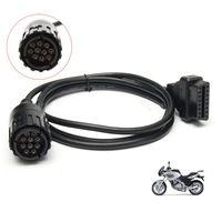 Modulo ICOM D per BMW-ICOM A2 Strumento diagnostico A3 per B-M-W Motocicli Motobikes Cavo diagnostico OBD ICOM 10pin a 16pin