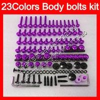 Fütterungsschrauben Full Screw-Kit für Yamaha XJ6R 09-12 XJ 6R XJ6 R XJ 6 R 09 10 11 12 2009 2010 2011 2012 Körpermuttern Schrauben Nussschrauben Kit 25farben