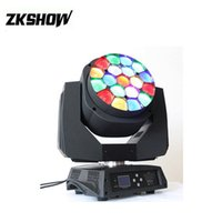 Mais Vendidos 19*15W Osram LED Moving Head Beam Wash RGBW DM...