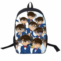 ab6a03e4a918 Anime Detective Conan backpack Nylon Children school bag teens daily backpack  cartoon travel bag