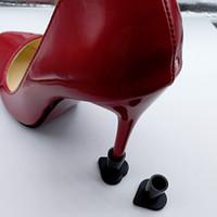 scarpe da donna sandali pompa Heel Stopper High Heeler Antiscivolo in silicone morbido Protezioni per tacchi Stiletto Dancing Cover