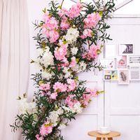 인공 벚꽃 나무 인공 꽃 가짜 꽃 실크 꽃 가정 장식 줄기 벚꽃 지점 결혼식 파티 장식