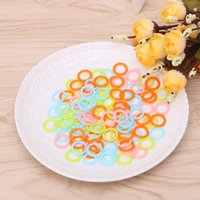 1200PCS Plastic Knitting Markers Rings Smooth Crochet Stitch Marker Ring Assorted Knitting Counters Needle Clip Small, Medium & Large