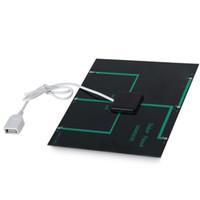 Haute Qualité 6 V 3.5 W Chargeur Solaire Panneau Solaire Chargeur Pour Téléphone Mobile Mobilbe Power Bank Avec USB 1 PCS Livraison Gratuite