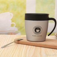 Xícara De Aço inoxidável Espresso Copo De Café Da Novidade Portátil Handle Belt Caneca de Presente Portátil Favor Presente Item de Cozinha 22jq ii