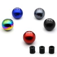 MUGEN 5 couleurs 5 Vitesse manuelle universelle automatique sphéricité POMMEAU Pour Honda Acura / TOYOTA / MAZDA Avec Logo