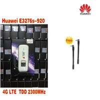 Unlocked Huawei E3276S-920 E3276 4G LTE Modem 150 Mbps WCDMA TDD Kablosuz USB Dongle Ağ artı 2 adet 4g anten