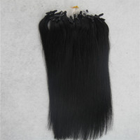 Extensions de cheveux Micro Ring 100g Remy Micro-extensions de cheveux de perle 1g / brin Micro Link Extensions de cheveux humains