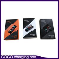 Новые COCO курение пара зарядки PCC Box 1200mAh батареи Vape Pen Starter Kit для V2 V3 Pod картридж 0268099