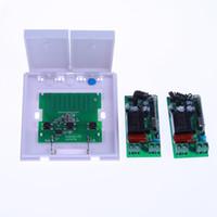 AC 180-240V Interruttore a parete a doppia chiave Telecomando 10A Relè Smart Home Lampada da soffitto Lampada a LED Interruttore di comando a distanza
