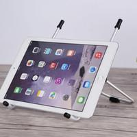 """Faltbarer Laptop-Standplatz-Halter für iPad 1/2/3 / 4mini Haltewinkel-Universalhalter 10-17 """"Notizbuch 8 ~ 10"""" Tablette PC Halter-Aluminiumstandplatz"""