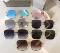 Nova moda óculos de sol de luxo Praça stellaire Sunglasses Moda Unissex designer de homens mulheres Marca óculos de sol Proteção UV Óculos com caixa