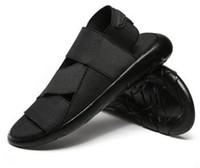 2018 sandalias romanas de verano Y8 Samurai negro zapatos de playa geniales para hombres Yohji Yaobu Ninja banda elástica para hombre