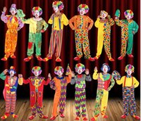 Hot Halloween funny clown men costume show All saint' s ...