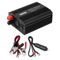 DC12-AC110V / 220V 300 W Car Inverter Adaptador Dual USB Power Converter Car Charger