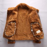 Exército verde 2013 AVIREXFLY EUA B3 voando forro de cordeiro pele desgaste vôo jaquetas dentro da cara dobro jaquetas de couro de carneiro pele