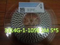 30 قطعة / الوحدة المتقلب الجهد 3314G-1-105E 1M 5 * 5 في الأوراق المالية
