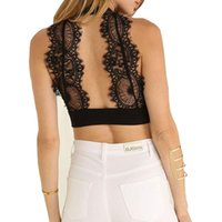 d648c84ed New Arrival. 2015 Summer New Fashion Womens Tank Tops Sexy Lace Tops Ladies  Halter Neck Cropped Top ...