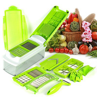 12-en-1 Fruta Slicer Vegetal Nicer Dicer Food Chopper Cortador Peeler Vegetable Fruit Graters Peeler Cutter Slicer Herramienta de cocina KKA2262