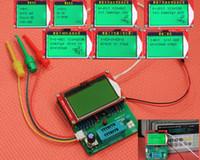 Freeshipping DIY KITLERI EZM328 Dijital Combo transistör test cihazı ESR frekans LCR Diyot Kapasitör metre PWM squarer dalga genera ...