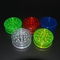 3layer Kunststoff Grinder 60mm für Rauchmeldern Rohracrylglasschleifmaschinen für kurvig blunt Rauchzubehoer hot GGA1114