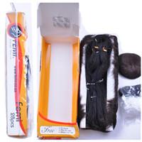 28pcs un sacco di estensioni dei capelli umani bundle con chiusura vergine brasiliana Remy fasci di capelli umani cuticola allineati fasci di Remi Femi bionda