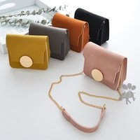 2018 new Fashion princess Mini Childrens Bags PU Leather Pur...