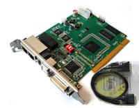 Linsn TS802D Kartka wysyłająca, pełny kolorowy wyświetlacz Wideo LED Linsn TS802 Synchroniczna karta Wideo LED SD802