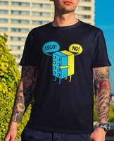 Mens Lego Hug T- Shirt - Funny Gift Tee Novelty Joke Nerd Toy...