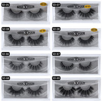 20style 3d Mink Hair Fake Eyelash 100% Thick real mink HAIR ...