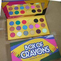 Stokta! Makyaj Paleti Boyuncusu Kozmetik Kutusu Göz Farı Paleti 18 Renkler Ishadow Paleti Paleti Epacket tarafından Mat Göz Güzellik