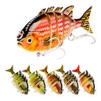 Бренд многосекционный реалистичные рыбы мускусный приманки 8 см 15.5 г Angryfish воблер приманка 5 сегментов безгубый fishbaitбыл