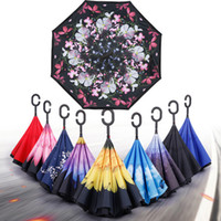Bulk Lots 40 Styles Folding Reverse Umbrellas Windproof Umbr...