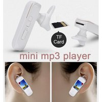 Customized Mini Sport USB Clip Ear Hanging MP3 Player Suppor...