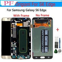 Original LCD Screen For Samsung S6 Edge G925V LCD Touch Scre...